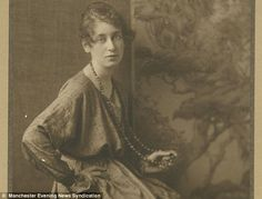Arthur Greg's fiancee Marian Allen, who captured the bravery and grief of war in a poem written in 1918  Read more: http://www.dailymail.co.uk/news/article-2266445/Arthur-Greg-WW1-British-Soliders-letter-discovered-mill.