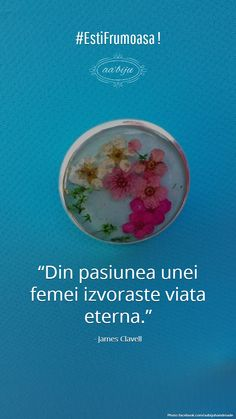#EstiFrumoasa #loveAAbiju  Din pasiunea unei femei izvoraste viata eterna. #citate #bijuterii #handmade Chart