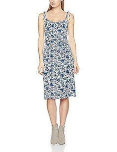 10, Multicoloured (Blue/White), Joe Browns Women's Sassy Sundress Dress NEW