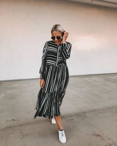 "Bianca / Kärntner Bloggerin auf Instagram: ""Autumn 🍁🍂 now i'm ready - i swear! In meiner Insta Story findet ihr einen kleinen Herbst Haul 🧡 inklusive einem Rabatt Code für…"" Striped Pants, Peonies, Shirt Dress, Sunglasses, News, Shirts, Instagram, Dresses, Fashion"