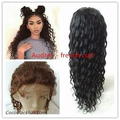 Did u find best quality hair? It's time!!!!! Audrey- Burmese virgin French curl full lace human hair wig comes with 4x4 inches Silk top can give you very Natural looking. Baby hair all around bleached knots in perimeter can be styled with bun or highpony. #hair #french #curlyhair #humanhair #wig #fulllacewig #burmese #virginhair #everything #naturalhair #beautiful #silktop #lacewigs #highponytail #bun #style #brown #nice #bleached #cocoblackhair Coco Black Hair provide the most natural…
