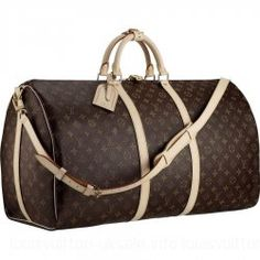 Louis Vuitton-Luggage Keepall 60 Shoulder Strap M41412 Brown