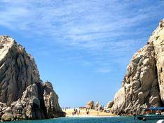 Lovers beach, Playa Del Amor, Los Cabos Mexico