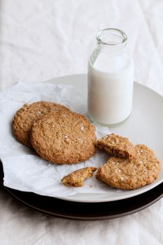 sea salt peanut butter cookies
