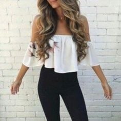 Off Shoulder Outfits For You To Look Fabulous 05