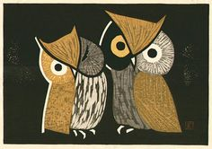 Owl by Kaoru Kawano Pinned by www.myowlbarn.com