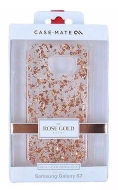 CASE MATE CASE FOR SAMSUNG GALAXY S7 ROSE GOLD KARAT SUPM46682 BRAND NEW