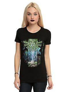 The Legend Of Zelda: Skyward Sword True Master Sword Girls T-Shirt,