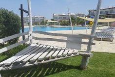 Lägenhet i Kyrenia, North Cyprus North Cyprus, Porch Swing, Outdoor Furniture, Outdoor Decor, Garden Bridge, Outdoor Structures, Home Decor, Decoration Home, Room Decor