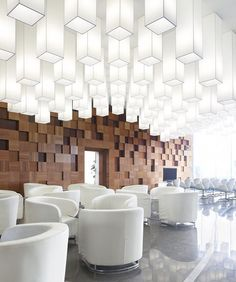 Pixel in Beijing Modelroom / SAKO Architects architecture-and-design Design Hotel, Restaurant Design, House Design, Modern Restaurant, Design Design, Lobby Design, Design Room, Cafe Design, Design Trends