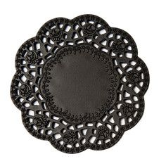 Cakelace Coaster Black Set Of 4, $12, now featured on Fab.