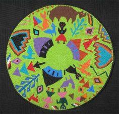 Bright Family African Zulu Telephone Wire Basket/Plate - Perfect for Kwanzaa #BlackFolkArt