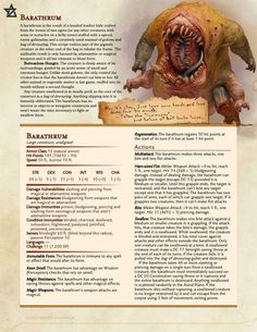 Post with 16710 views. Veiled Threats - A Brief Bestiary Monsters] Dungeons And Dragons Rules, Dungeons And Dragons Classes, Dungeons And Dragons Homebrew, Dungeons And Dragons Characters, Dnd Characters, Monster Characters, Fantasy Creatures, Mythical Creatures, Dnd Stats