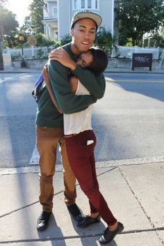teen Young couples black
