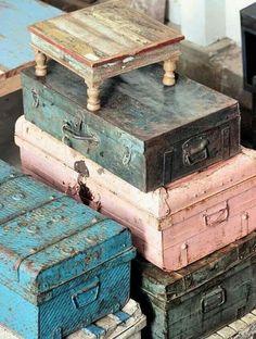 Vintage Pastel Trunks