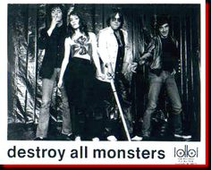 Niagara Destroy All Monsters   Larry (L.J.) Steele (D) The Cult Heroes