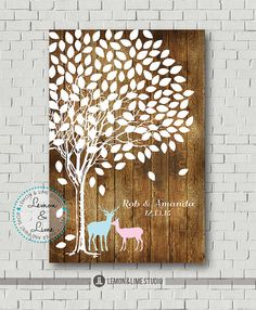 Hey, I found this really awesome Etsy listing at https://www.etsy.com/listing/182299065/wedding-guest-book-alternative-custom