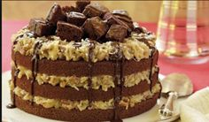 Best cooking recipes: Homemade German Chocolate Cake