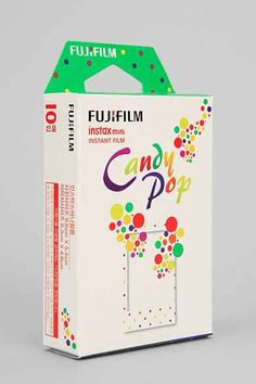 Shop Fujifilm Instax Mini Candy Pop Film at Urban Outfitters today. We carry all the latest styles, colors and brands for you to choose from right here. Instax Mini Film, Instax Mini 8 Camera, Fujifilm Instax Mini 8, Fuji Instax, Instax Printer, Smartphone Printer, Dslr Photography Tips, Outdoor Photography, Polaroid Pictures