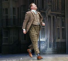 Can he win? James Corden has been nominated for a Tony Awards for his efforts in One Man, Two Guvnors