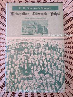 C.H. Spurgeon Metropolitan Tabernacle Pulpit Volume 24 Year 1878 Sermons HC DJ