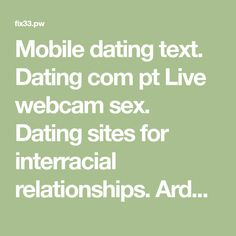 sex dating and relationships site