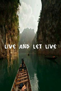My own edit, hippy hippie live and let live beautiful quote