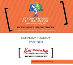 Karnataka is a tapestry of colours, cultures, flavours, landscapes, timelessness and heart stopping beauty. The Kannada Cuisine is one of the oldest surviving cuisines and traces its origin to 1500 AD and is mentioned in the historical works by Pampa Maha Kavi, Sushrutha, etc. #chefs #cook #recipes #ITC #Chennai #foodart #chefsart #finedining #chefsmeet #conference #culinary #chefstalk #kitchen #professionals #restaurants #foodculture #foodfest #IFCA2015