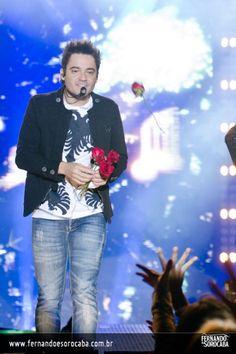 Foto do show da dupla Fernando e Sorocaba realizado em Aracatuba/SP no dia 12-07-2012