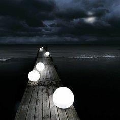 Glow-in-the-Dark Orbs (http://blog.hgtv.com/design/2013/07/26/daily-delight-glow-in-the-dark-orbs/?soc=pinterest)