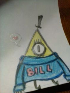 Meh I'm bored so Bill Cipher