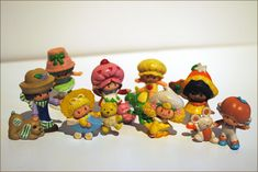 I still have the little rubber Strawberry Shortcake, and she still smells like strawberries. 1980s toys   1980s Strawberry Shortcake Figurines/Toys by PiecedTogetherPieces