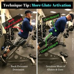 """Adam McCluskey SPT, CES, CPT on Instagram: """"Are you reinforcing poor movement patterns with this common exercise? ----- Anterior pelvic tilt paired with hyperactive back extensors is…"""""""