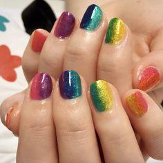 Half and half rainbow by Steph Stone