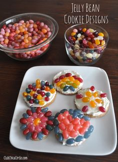 Jelly Bean BINGO and Cookie Decorating Ideas with Free Printable | Tween Craft Ideas for Mom and Daughter