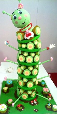 3D Cupcake Tower