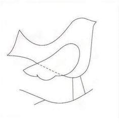 Paper Bird Template - Bing Images