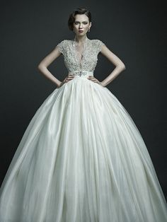 A Fairy Tale Wedding Dress Collection Inspired By Russian Aristocratic Style by modwedding, via Flickr