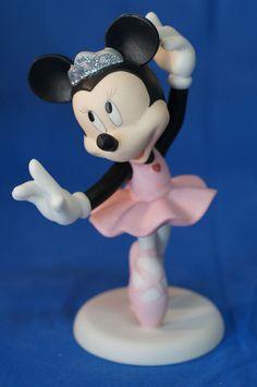 Minnie Mouse Beautiful Dreamer Ballerina Figurine Disney Precious Moments 114709 #PreciousMoments