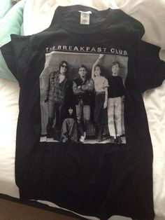 2d82fdf8ada Breakfast Club tshirt! I love you HMV! Breakfast Club Shirt