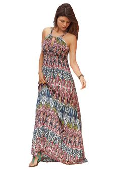 A stunning plus size maxi dress is just what you need this season!