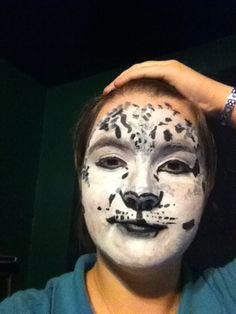 Snow Leopard Face Paint by Soulless-Love.deviantart.com on @deviantART