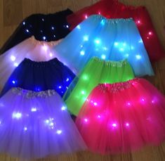 Excited to share this item from my shop: Girls tutu Now with 3 modes to operate. Steady, slow and fast blinking lights. Candy Theme Birthday Party, Neon Birthday, Kids Birthday Themes, Glow In Dark Party, Glow Party, Neon Party Outfits, Skate Party, Football Outfits, Tutus For Girls