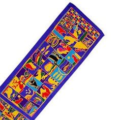 Northern Icons Silk Oblong Scarf