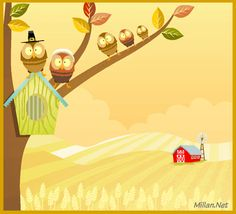 Send This Beautiful From Our Home Thanksgiving ECard To Friends And Family Totally Free