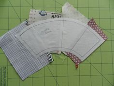 Here is a little tutorial forpiecing the arcs of this wheelwith freezer paper....    Once I have made my arcs for each quadrant of the cir...