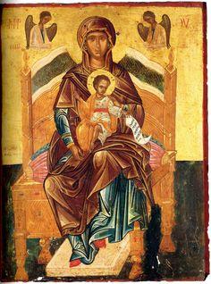 Byzantine Icons, Byzantine Art, Orthodox Icons, Mother Mary, Virgin Mary, Fresco, Madonna, Mosaic, Marvel