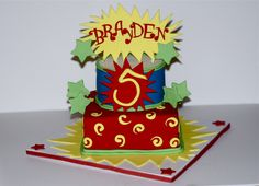 5th Birthday cake