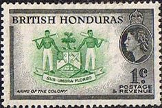 British Honduras Stamps SG 179 Coat of Arms Fine Mint SG 179 Scott 144  Stamps for sale Take a LOOK
