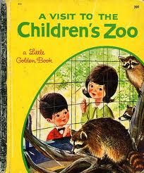 """A Visit To The Children's Zoo"" By Barbara Shook Hazen, Pictures by Mel Crawford. Golden Press, 1963.  How it all began..."